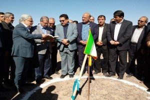 The construction of 10 MW Ardakan solar power plant began